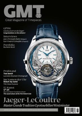 GMT, Great Magazine of Timepieces (German-English)