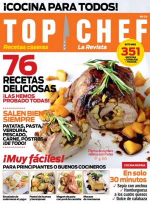 Top Chef la revista