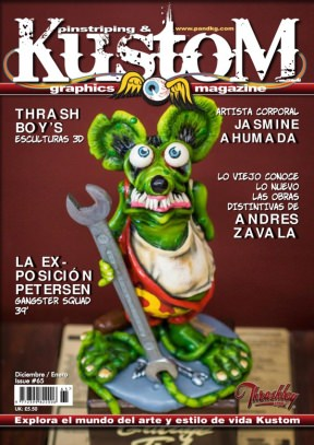Pinstriping & Kustom Graphics Magazine Spanish editions
