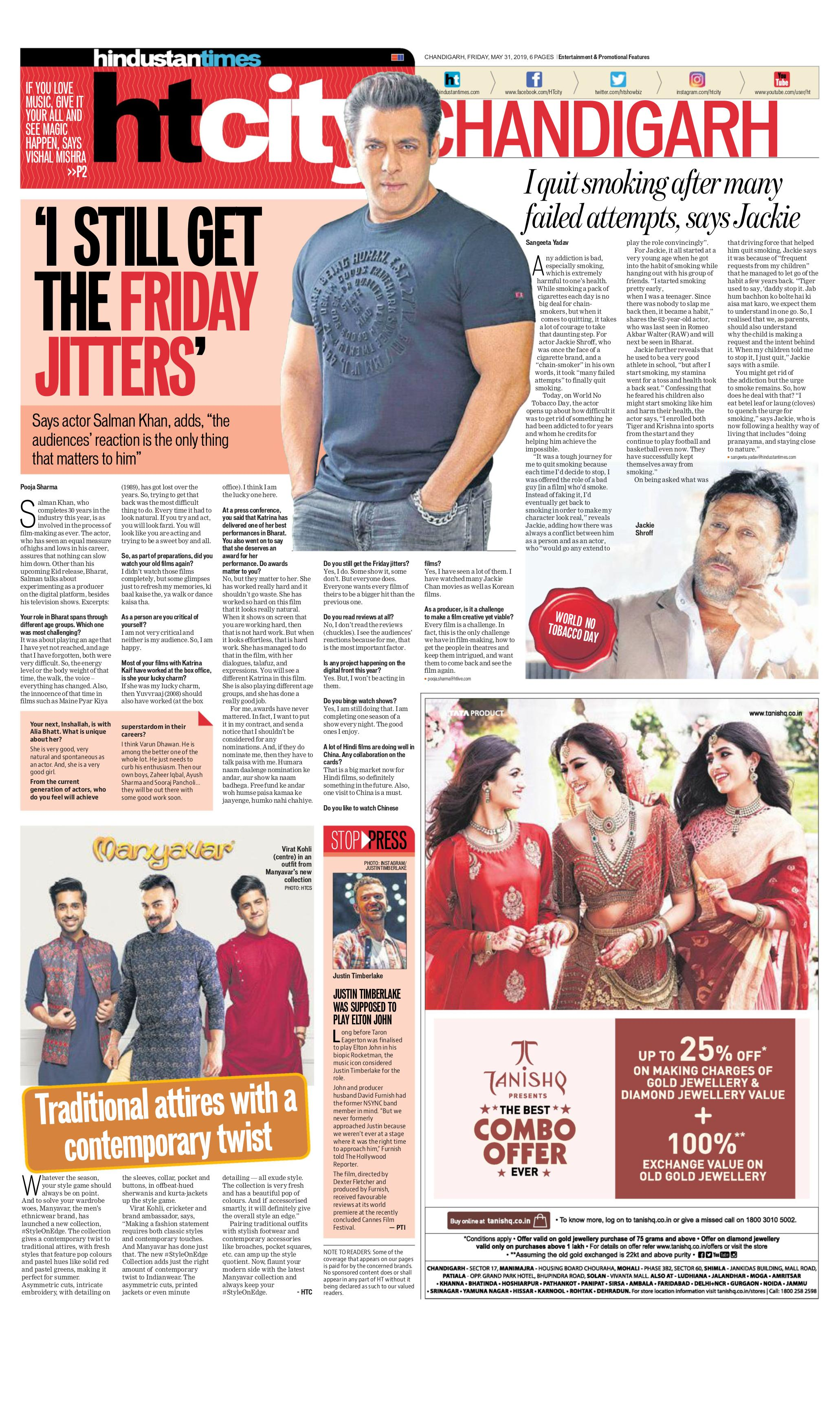 Hindustan Times Chandigarh - May 31, 2019 Digital Magazine