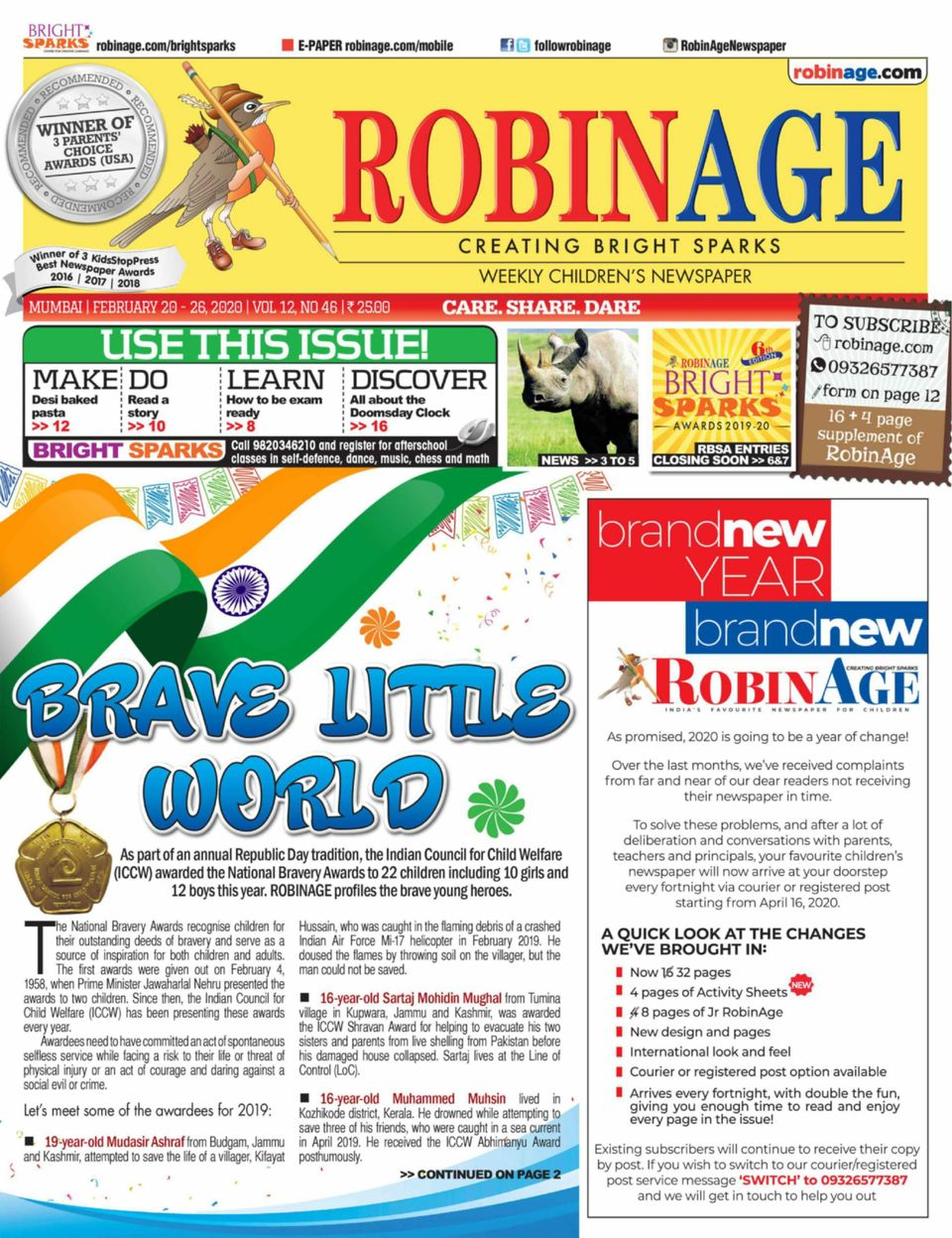 Get Your Digital Copy Of Robinage February 20 2020 Issue