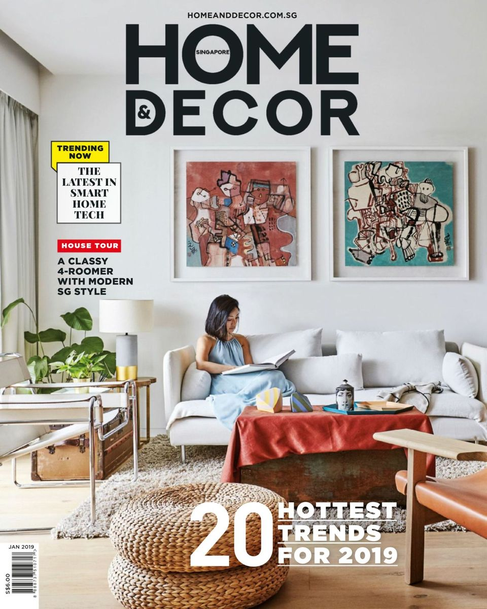 Get your digital copy of Home & Decor Singapore-January 22 issue