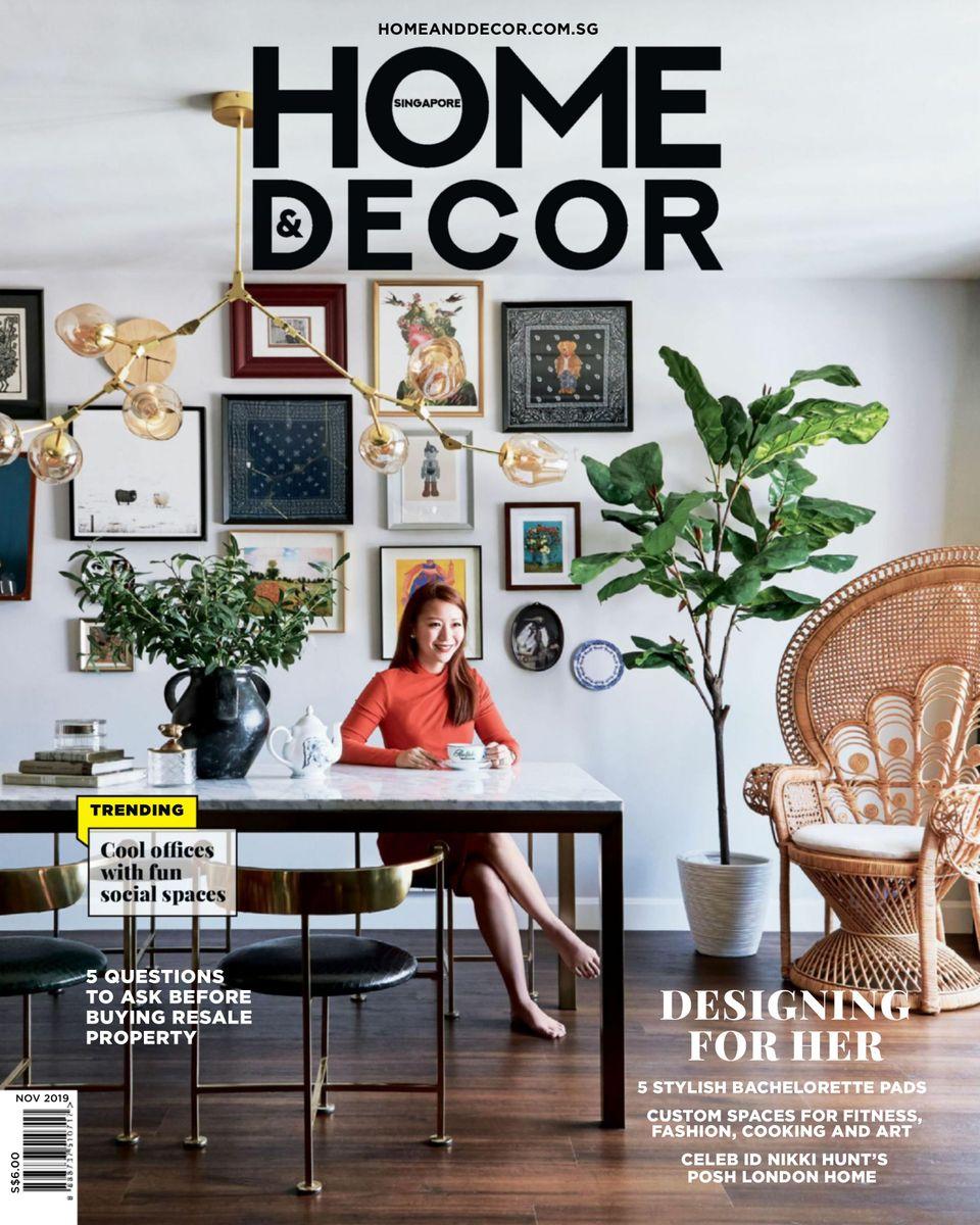 Get your digital copy of Home & Decor Singapore-November 22 issue