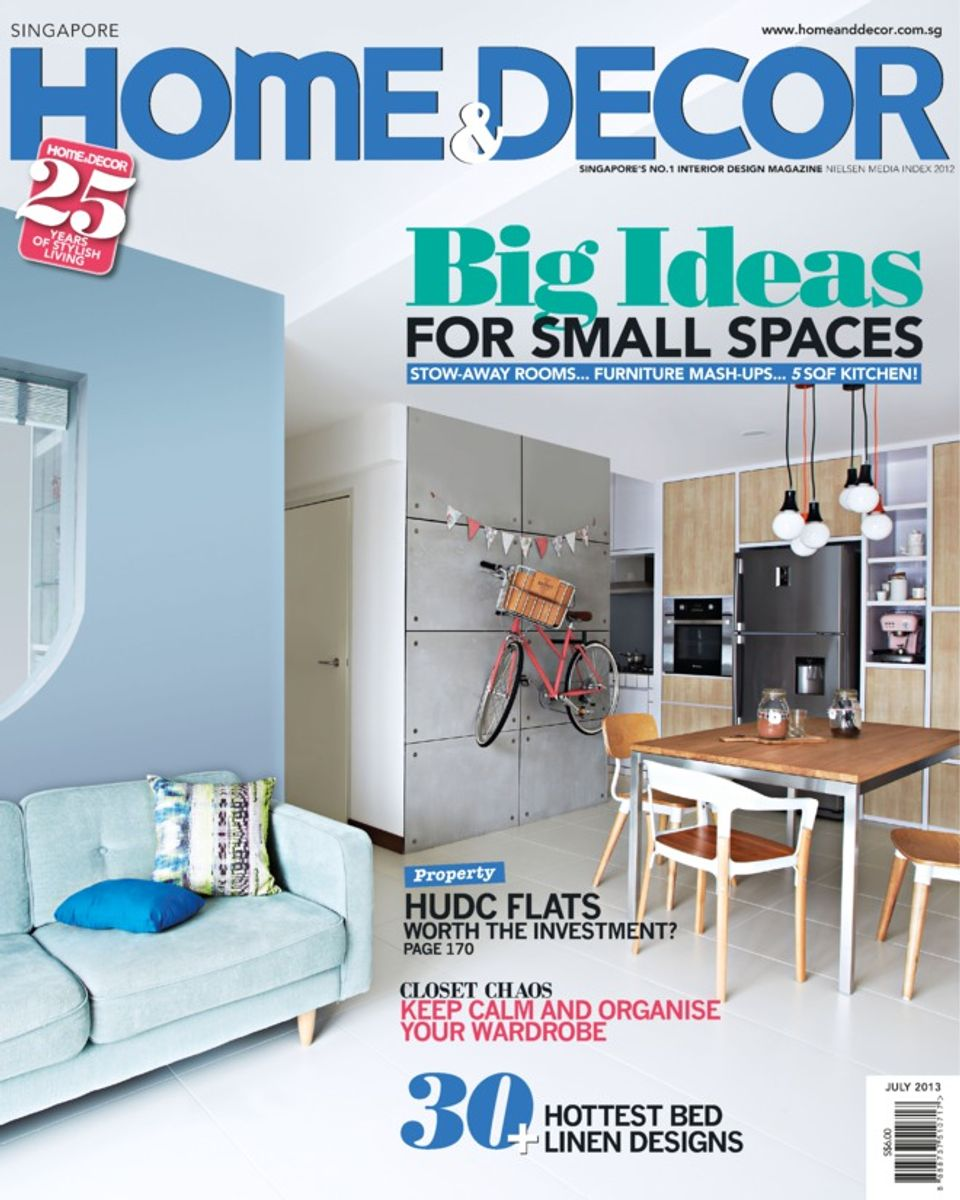 Home Decor Singapore: Home & Decor Singapore-July 2013 Magazine