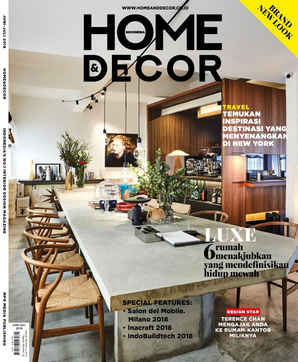 Get your digital copy of Home & Decor Indonesia-June - July 28 issue