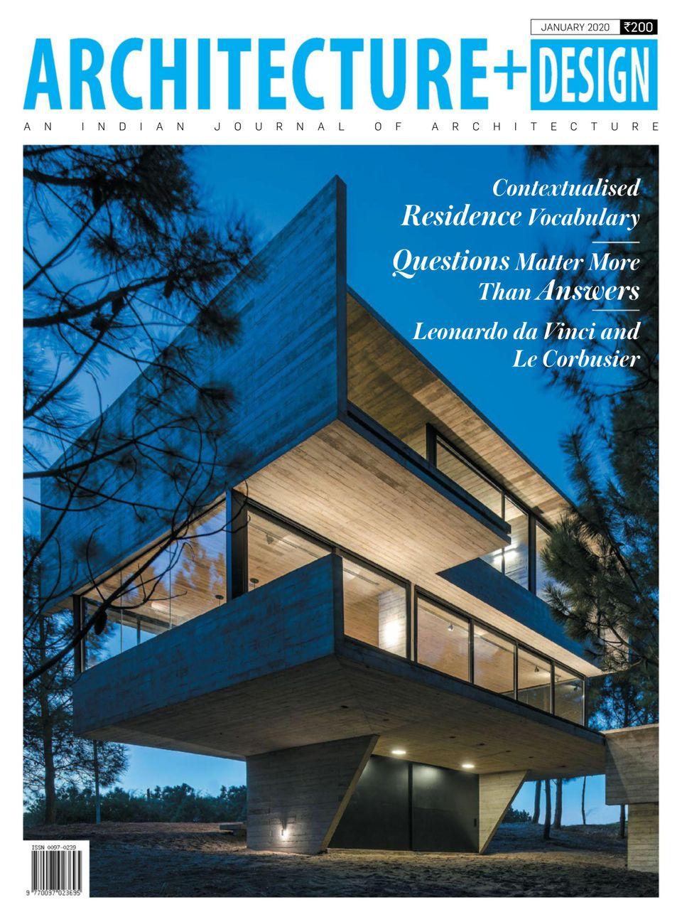 Architecture Design January 2020 Magazine Get Your Digital Subscription