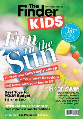 The Finder Singapore Magazine The Finder Kids Volume 21 issue – Get