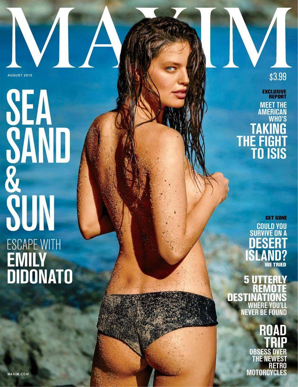 Maxim-August 2015 Magazine - Get your Digital Subscription