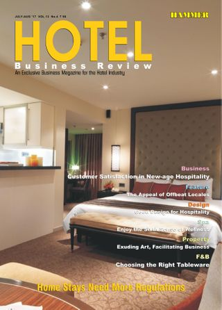 Hotel Business Review Magazine July/August 2017 issue – Get