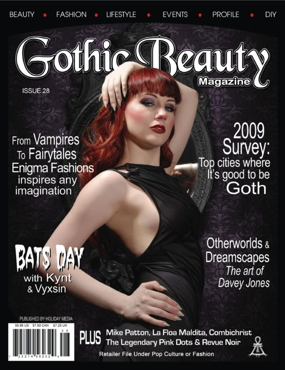 Gothic Beauty-Issue 28 Magazine - Get your Digital