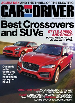 Car and Driver Magazine November 2016 issue – Get your digital copy