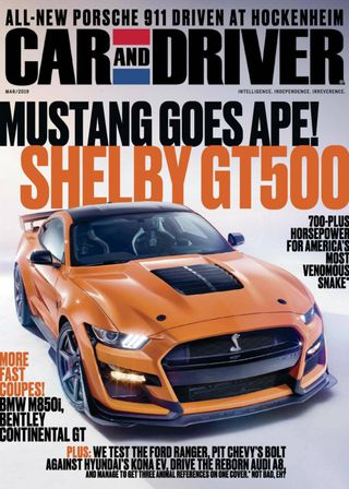 Car And Driver >> Car And Driver Magazine June 2019 Issue Get Your Digital Copy