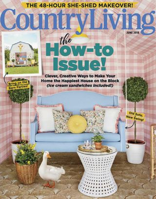 Country Living Magazine June 2018 issue – Get your digital copy