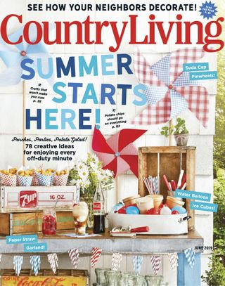 Get Your Digital Copy Of Country Living June 2019 Issue