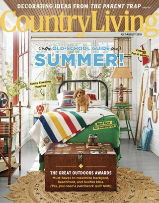 Get your digital copy of Country Living-July - August 2019 issue