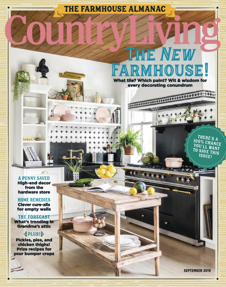 Get your digital copy of Country Living-September 2019 issue