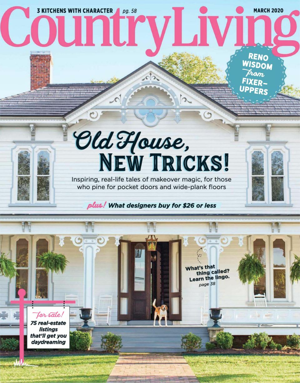 Get Your Digital Copy Of Country Living March 2020 Issue