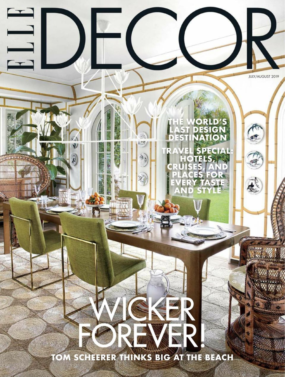 Get Your Digital Copy Of Elle Decor July August 2019 Issue