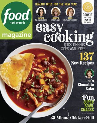 Get Your Digital Copy Of Food Network Magazine January February 2019 Issue,How To Clean A Kitchen Faucet Sprayer