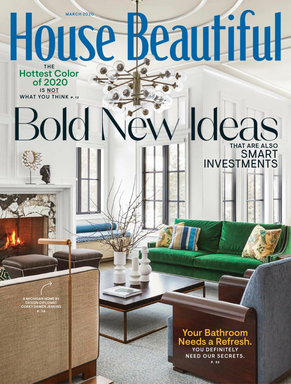 Get your digital copy of House Beautiful-March 25 issue