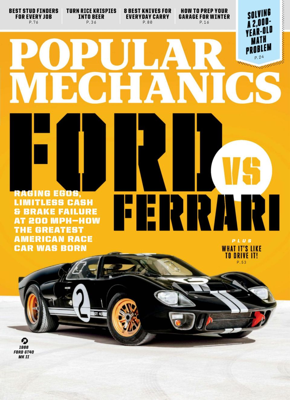 Get your digital copy of Popular Mechanics-November 2019 issue