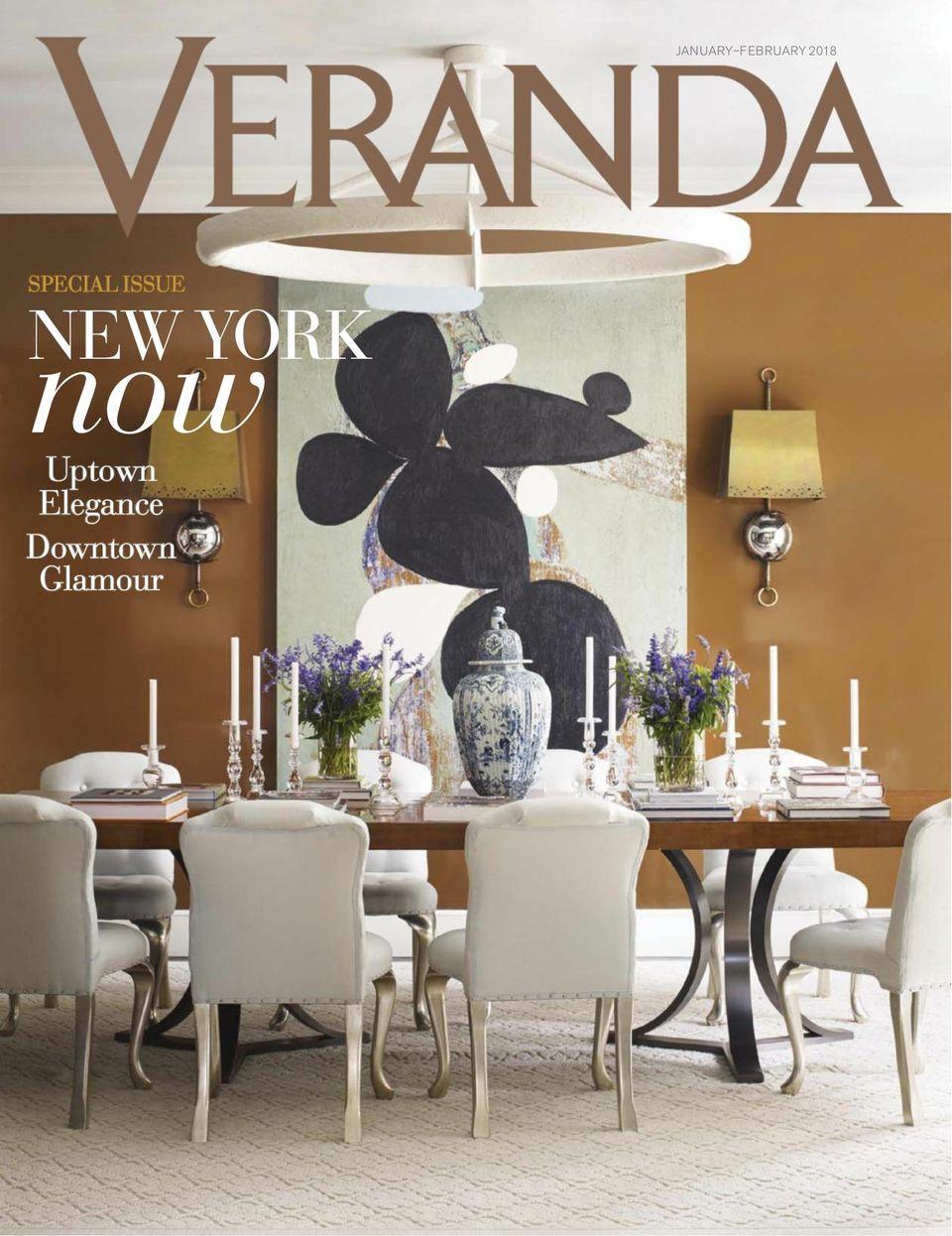 Veranda-January/February 2018 Magazine - Get your Digital Subscription