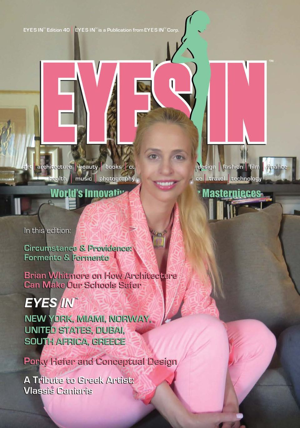 Get Your Digital Copy Of Eyes In Edition 40 Issue