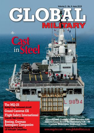 Global Military Magazine June 2018 issue – Get your digital copy