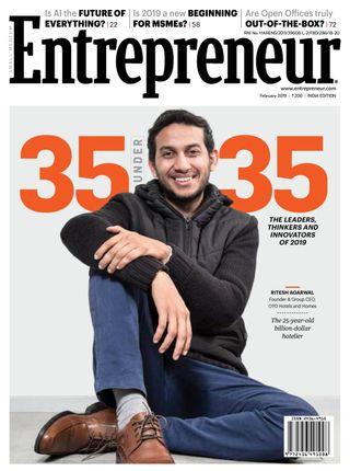 Entrepreneur magazine Magazine February 2019 issue – Get