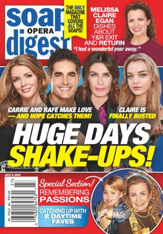Soap Opera Digest Magazine July 8, 2019 issue – Get your