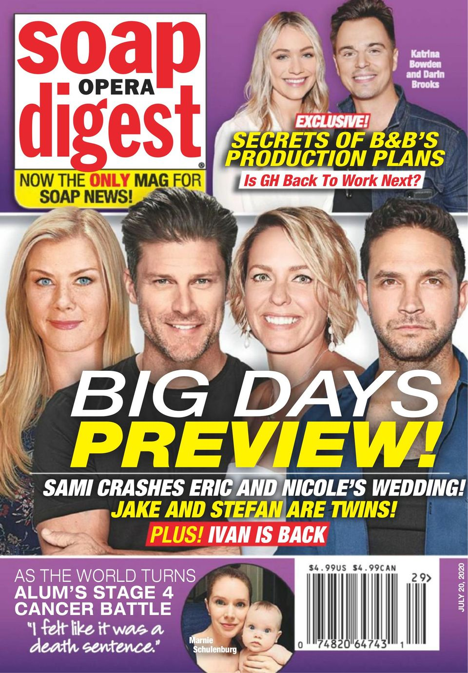 Soap Opera Digest-July 8, 2019 Magazine - Get your Digital