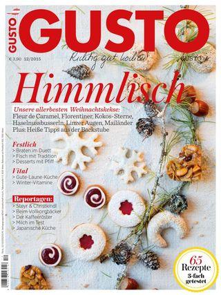 Ich Koche Weihnachtskekse.Gusto Epaper Magazine Get Your Digital Subscription