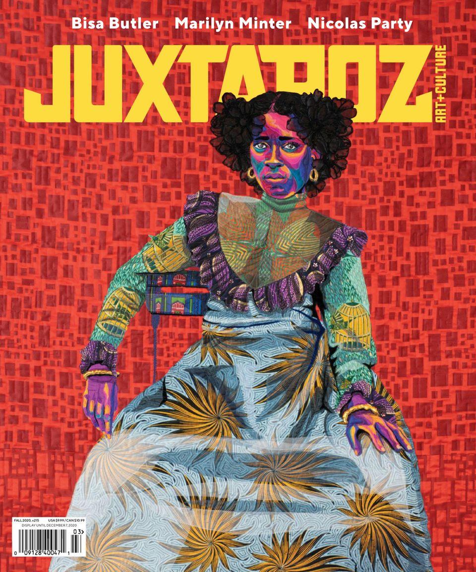 JUXTAPOZ graphic design magazine cover