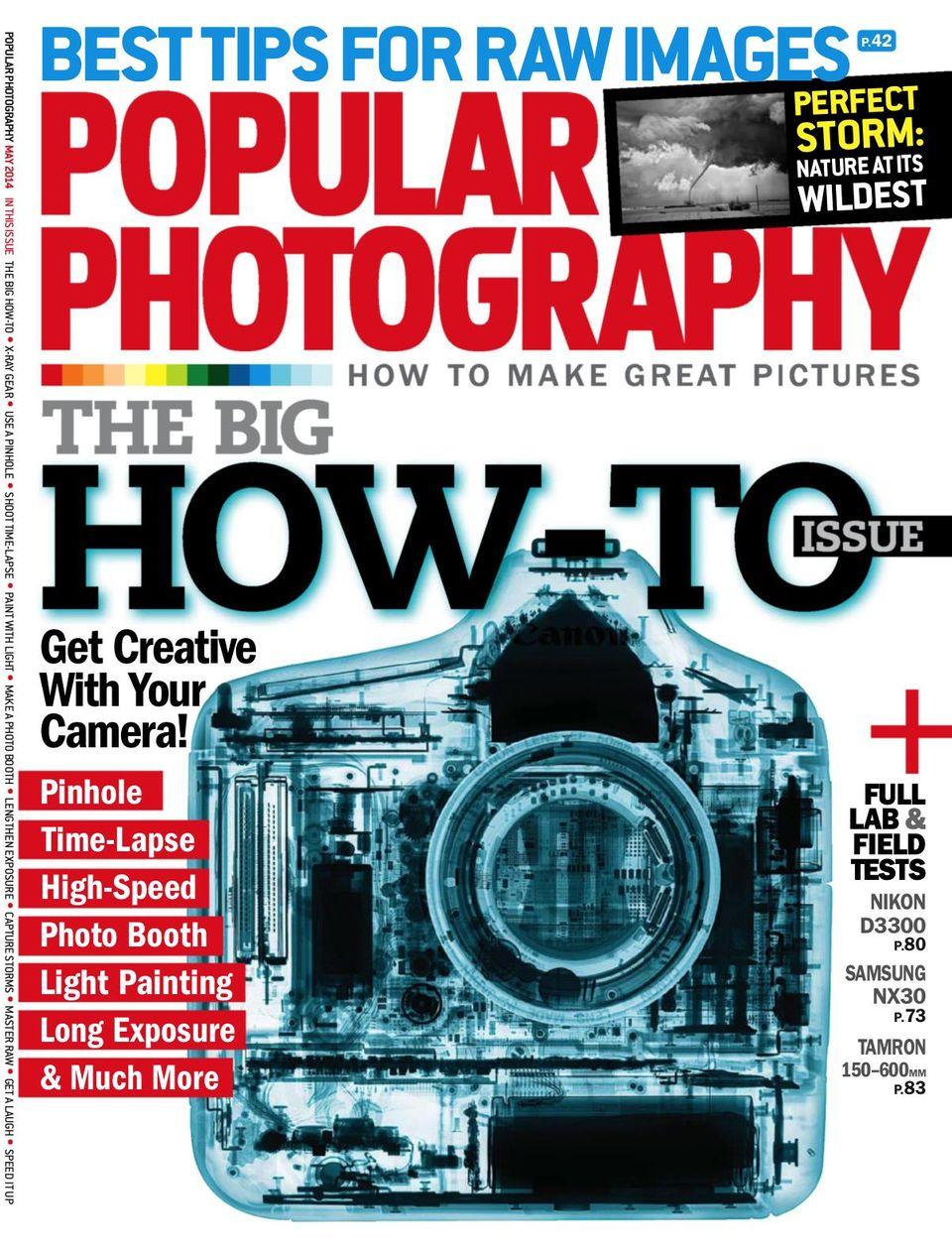 Popular Photography-May 2014 Magazine