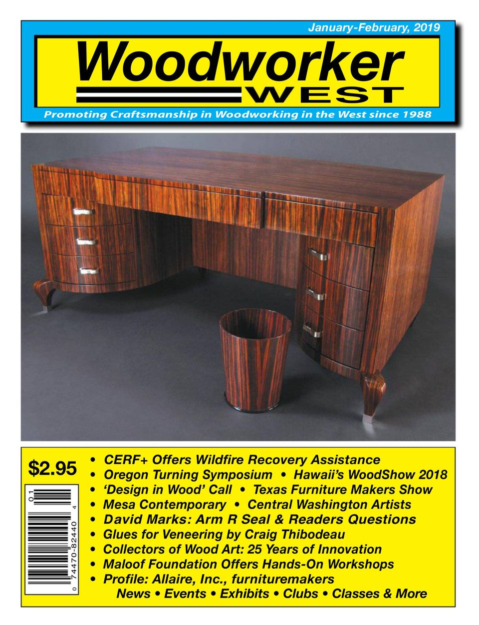 Get Your Digital Copy Of Woodworker West January February 2019 Issue