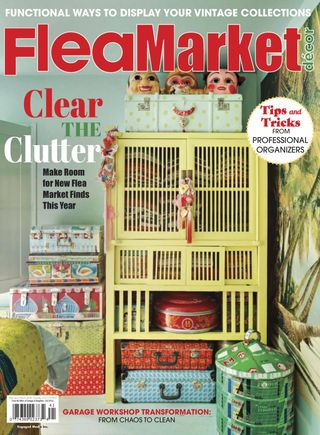 Get your digital copy of Flea Market Décor-February/March 12 issue