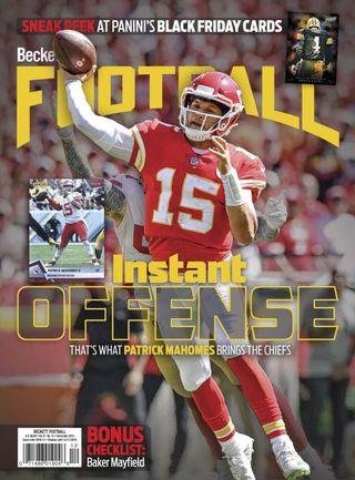 fd6e14d309d Beckett Football Magazine December 2018 issue – Get your digital copy