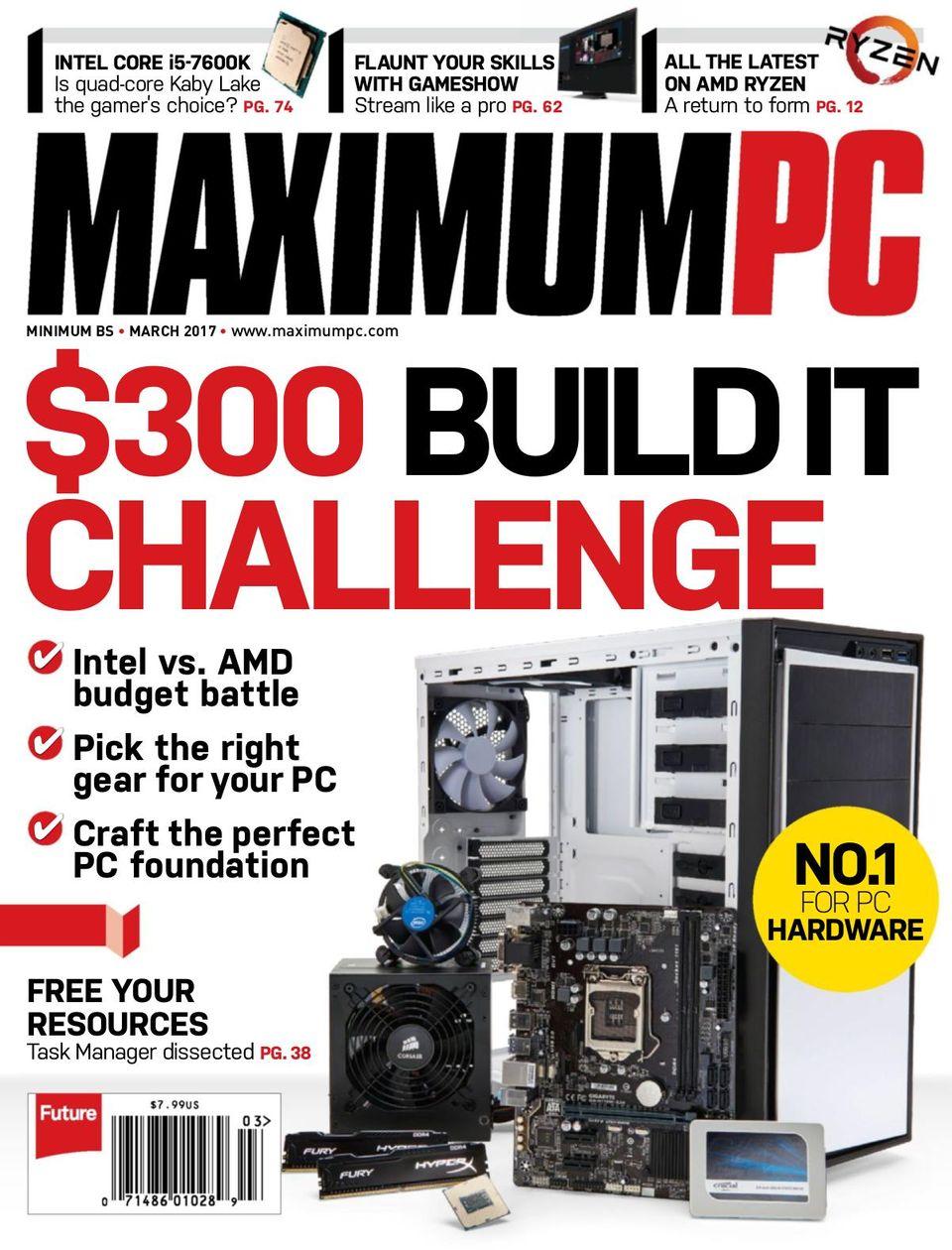 Maximum PC-March 2017 Magazine - Get your Digital Subscription