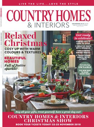 Country Homes Interiors December 2018