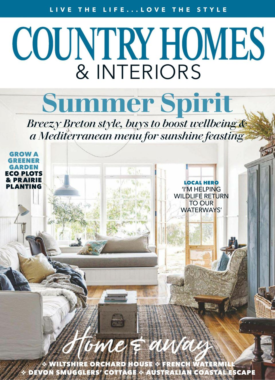 Get your digital copy of Country Homes & Interiors August 20 issue