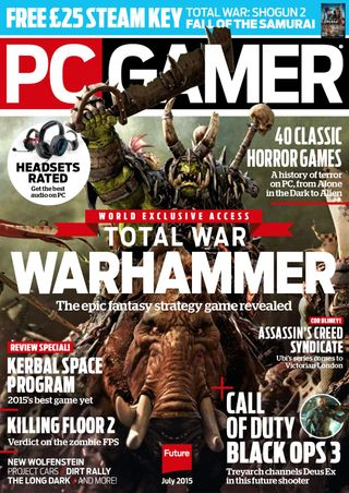 PC Gamer Magazine July 2015 issue – Get your digital copy