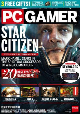 PC Gamer Magazine Xmas 2015 issue – Get your digital copy
