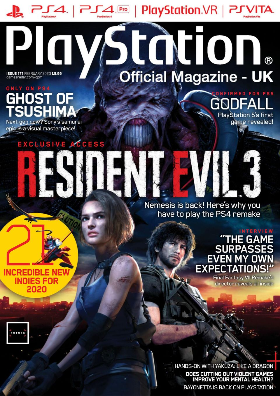 Official Xbox Magazine Issue 171 Christmas 2020 Get your digital copy of Official PlayStation Magazine   UK