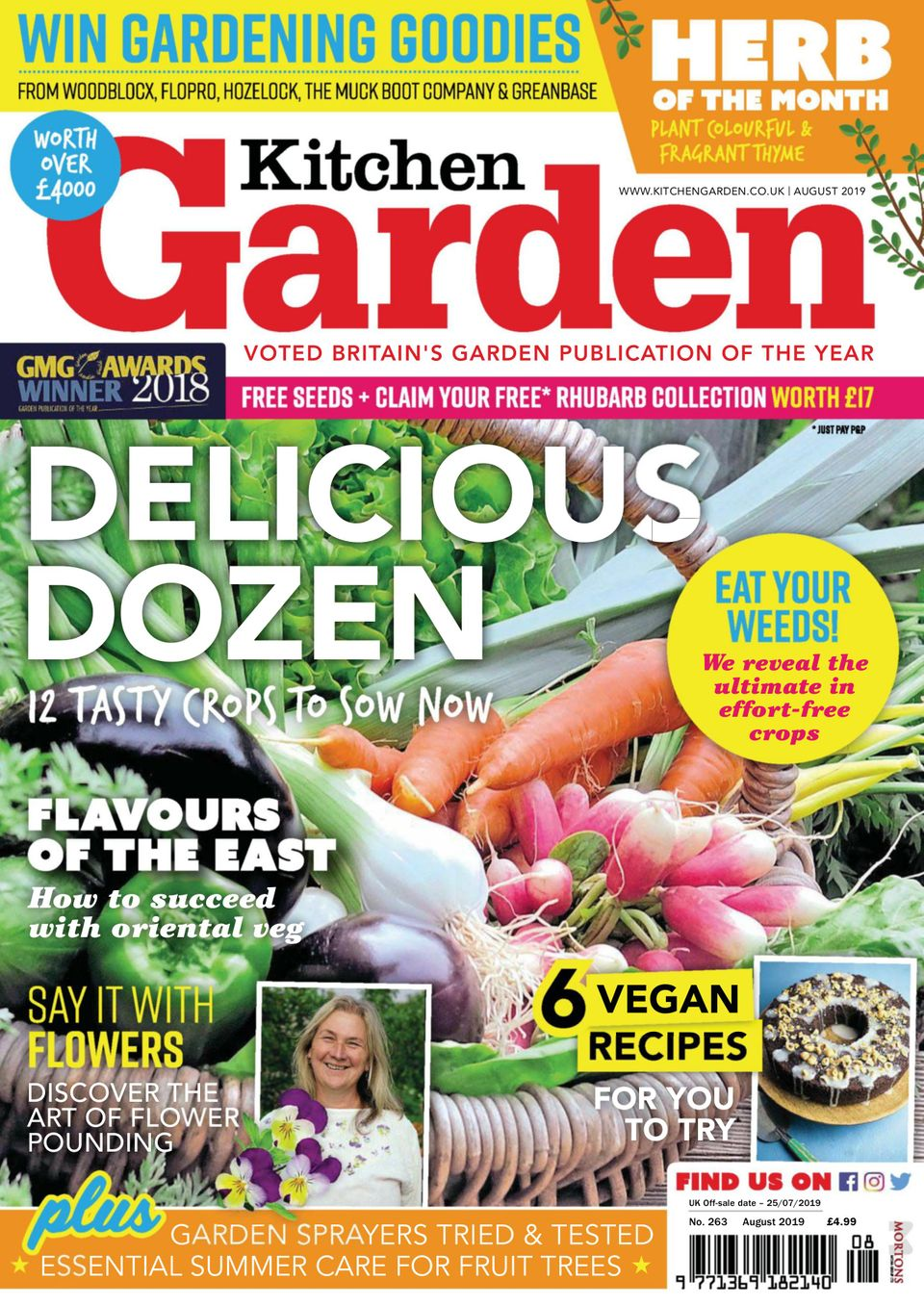 Get Your Digital Copy Of Kitchen Garden August 2019 Issue