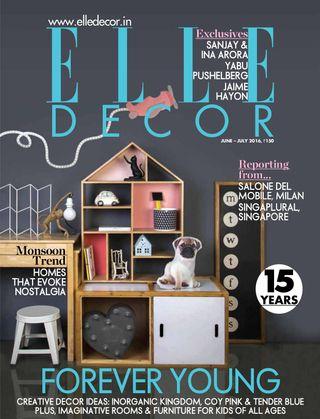 Get Your Digital Copy Of Elle Decor India Junejuly 2016