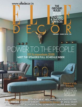 . Elle Decor India Magazine February   March 2018 issue   Get your