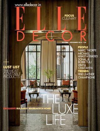 Get Your Digital Copy Of Elle Decor India October November