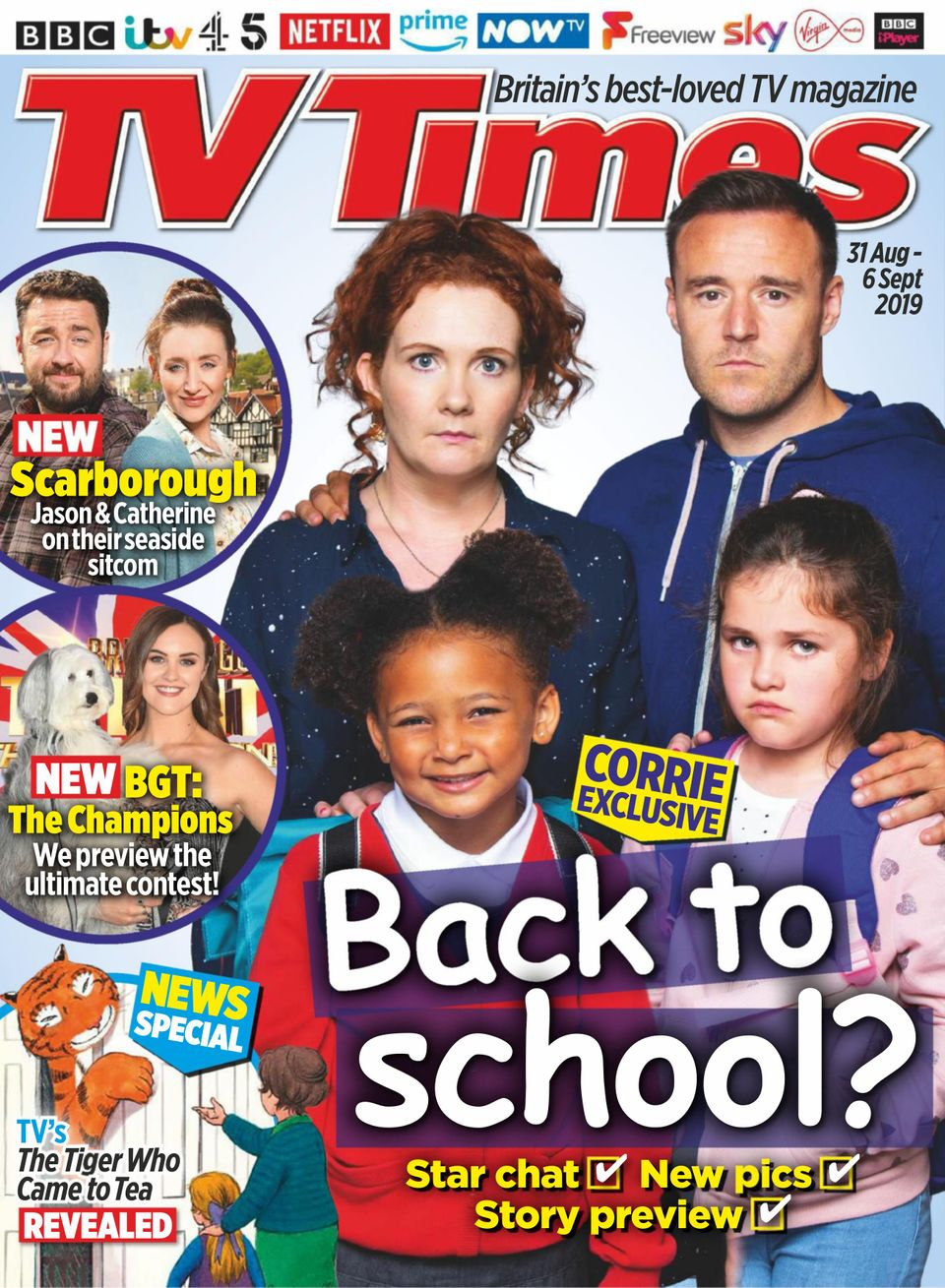 Get your digital copy of TV Times-August 31, 2019 issue