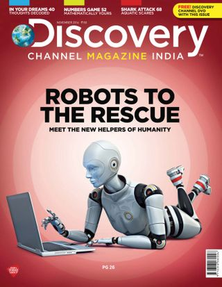 Discovery Channel Magazine November 2014 issue – Get your