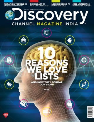 Discovery Channel Magazine May, 2014 issue – Get your